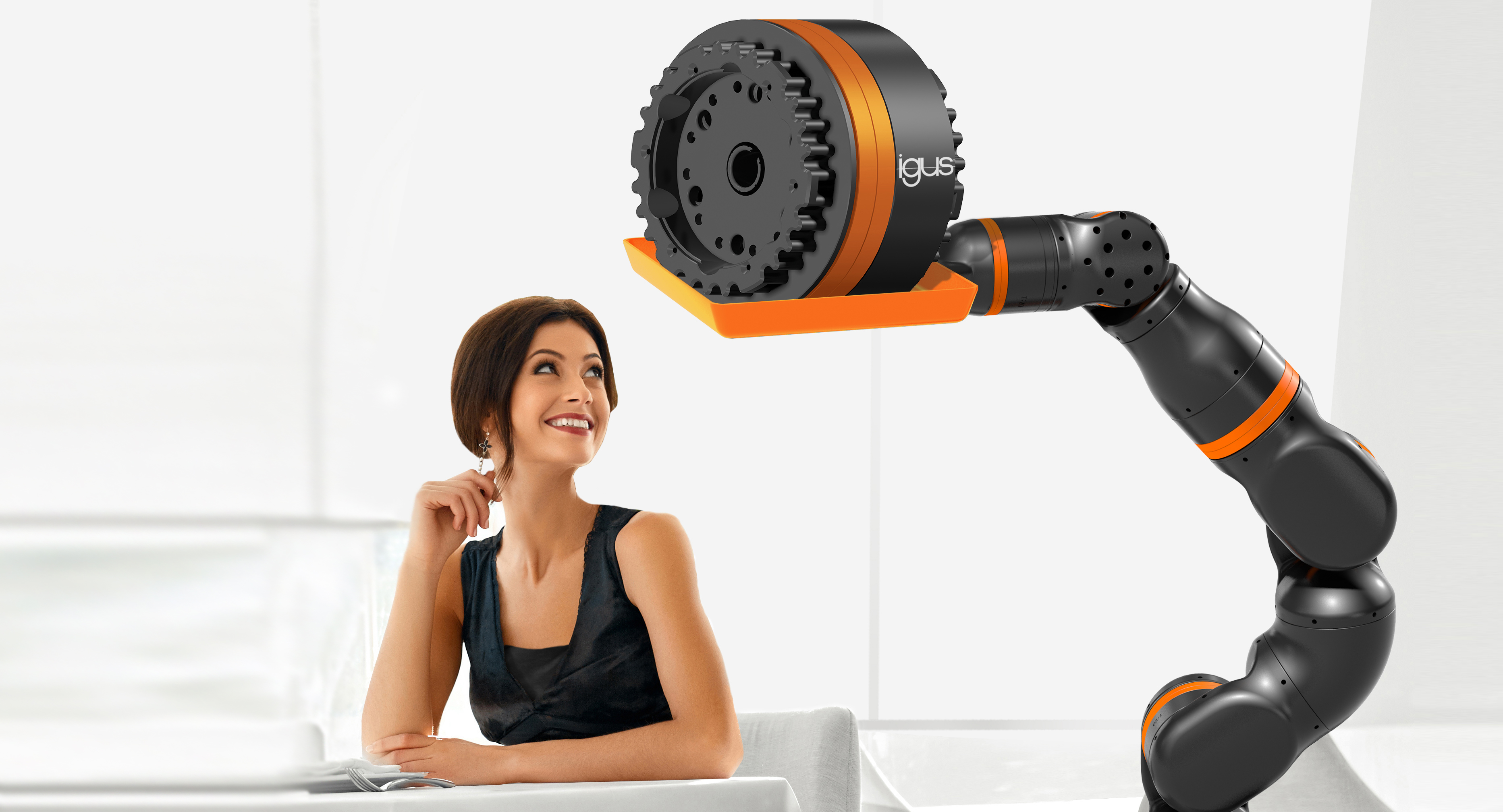 igus will unveil low-cost 6-axis robotic joint at Hannover Messe