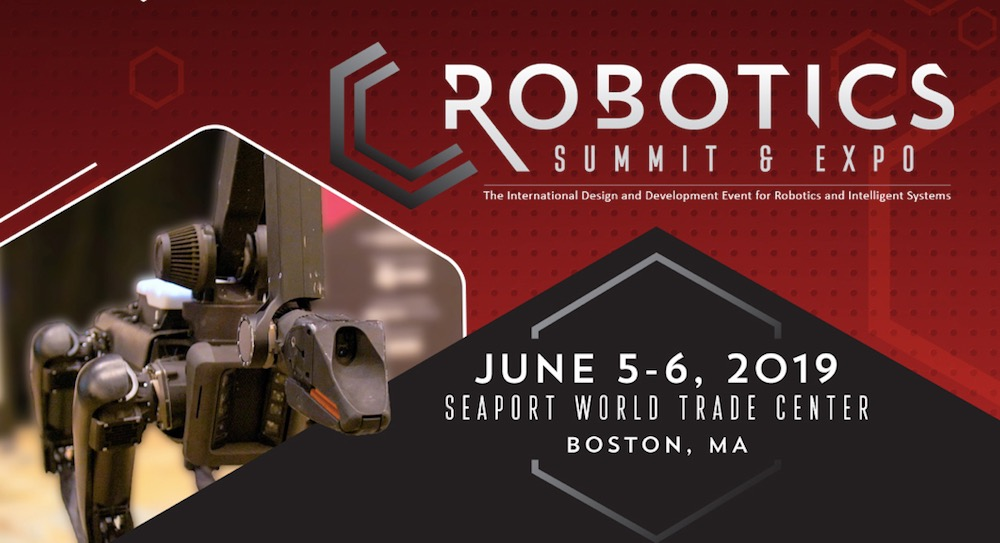 Robotics Summit & Expo 2019 logo