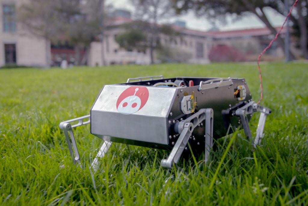 Stanford Doggo robot acrobatically traverses tough terrain