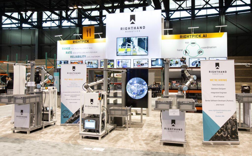 RightHand Robotics at ProMat 2019