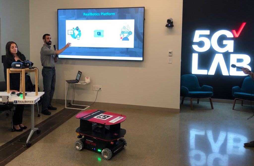 RealBotics at 5G Demo Day
