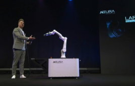 Han's Robot rebrands itself as Neura Robotics, announces LARA collaborative robot