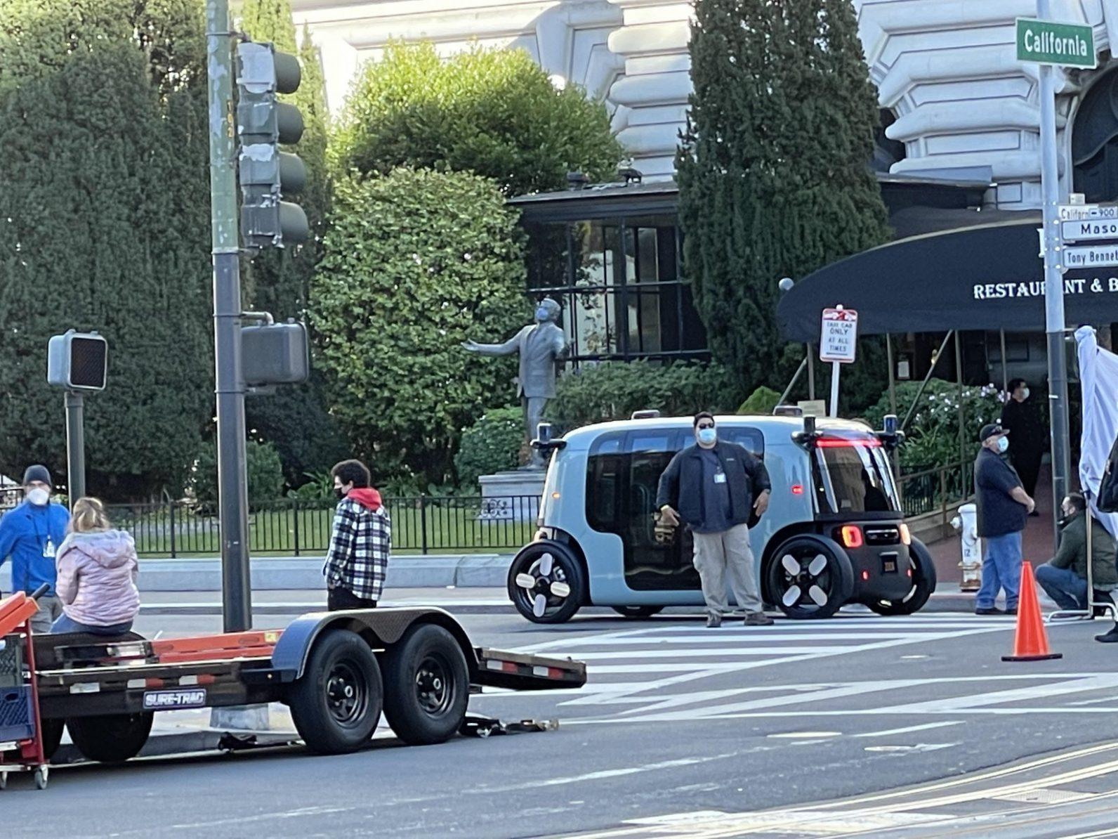 Zoox's new autonomous vehicle