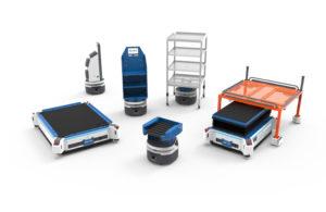 Fetch Robotics AMR product line