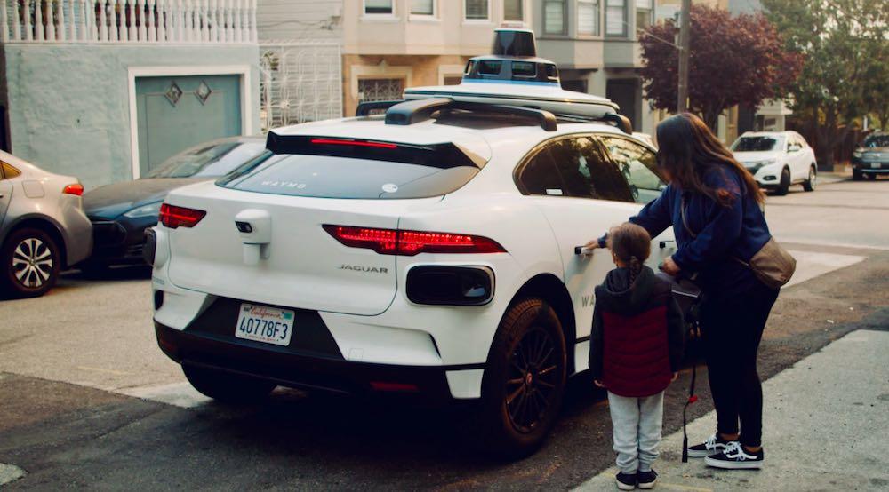 Waymo robotaxis San Francisco