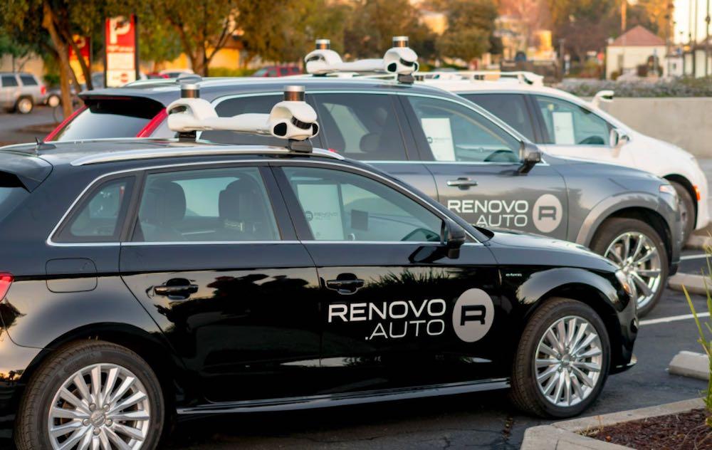 Woven Planet Holdings Renovo Motors